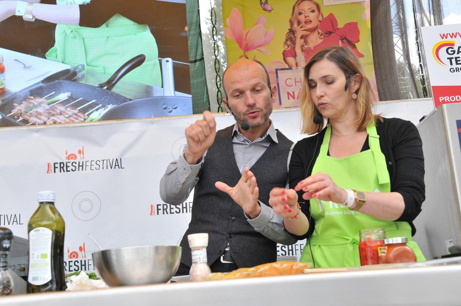 Bosch Fresh Festival 2016 nenabídne jen Pohlreicha