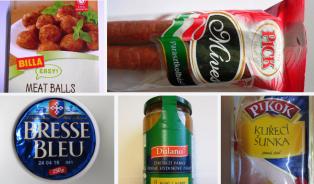 Zahraniční potraviny zLidlu, Globusu, Kauflandu iBilly porušují předpisy