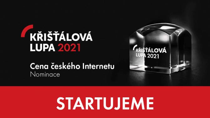 [článek] Křišťálová Lupa2021 startuje, nominujte své oblíbené weby a služby na cenu českého internetu