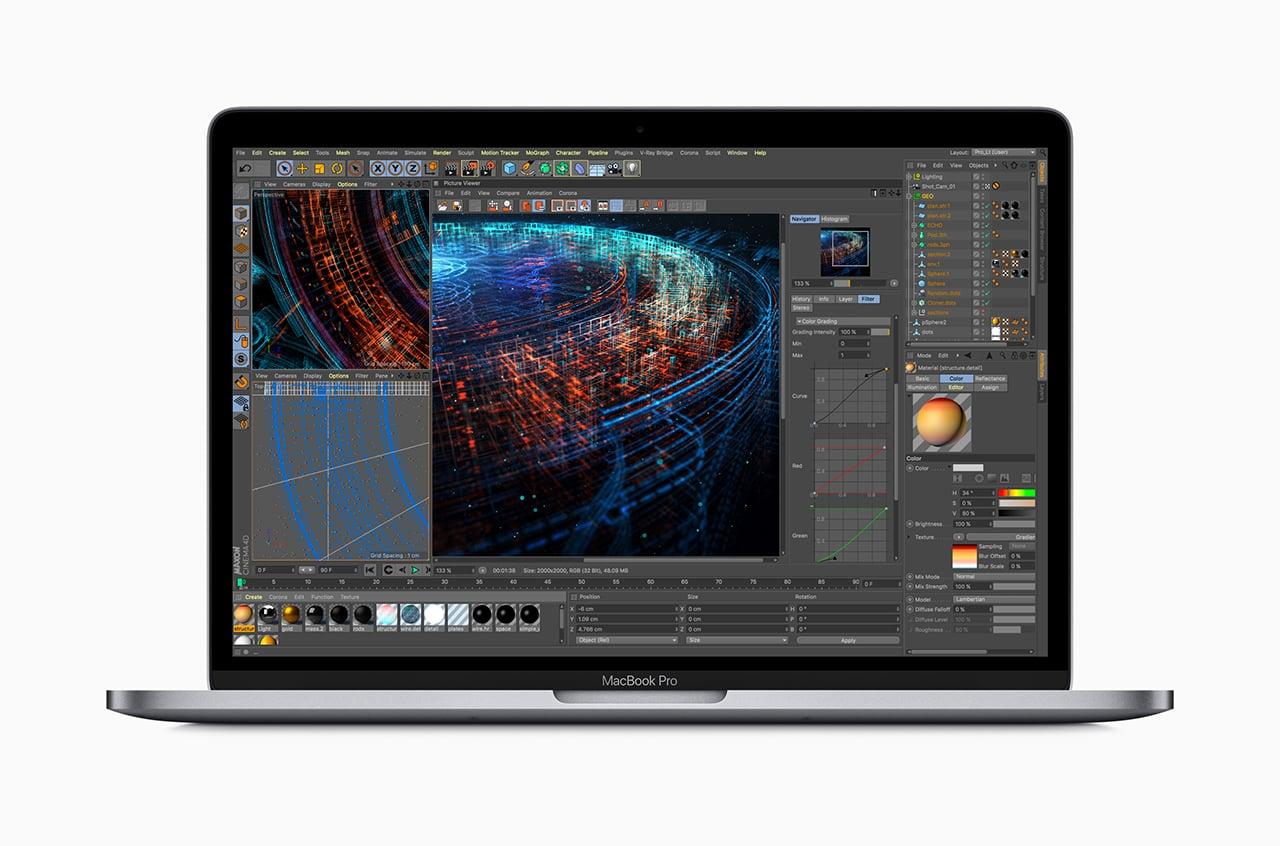 Vylepšené notebooky Apple MacBook Pro (léto 2018)