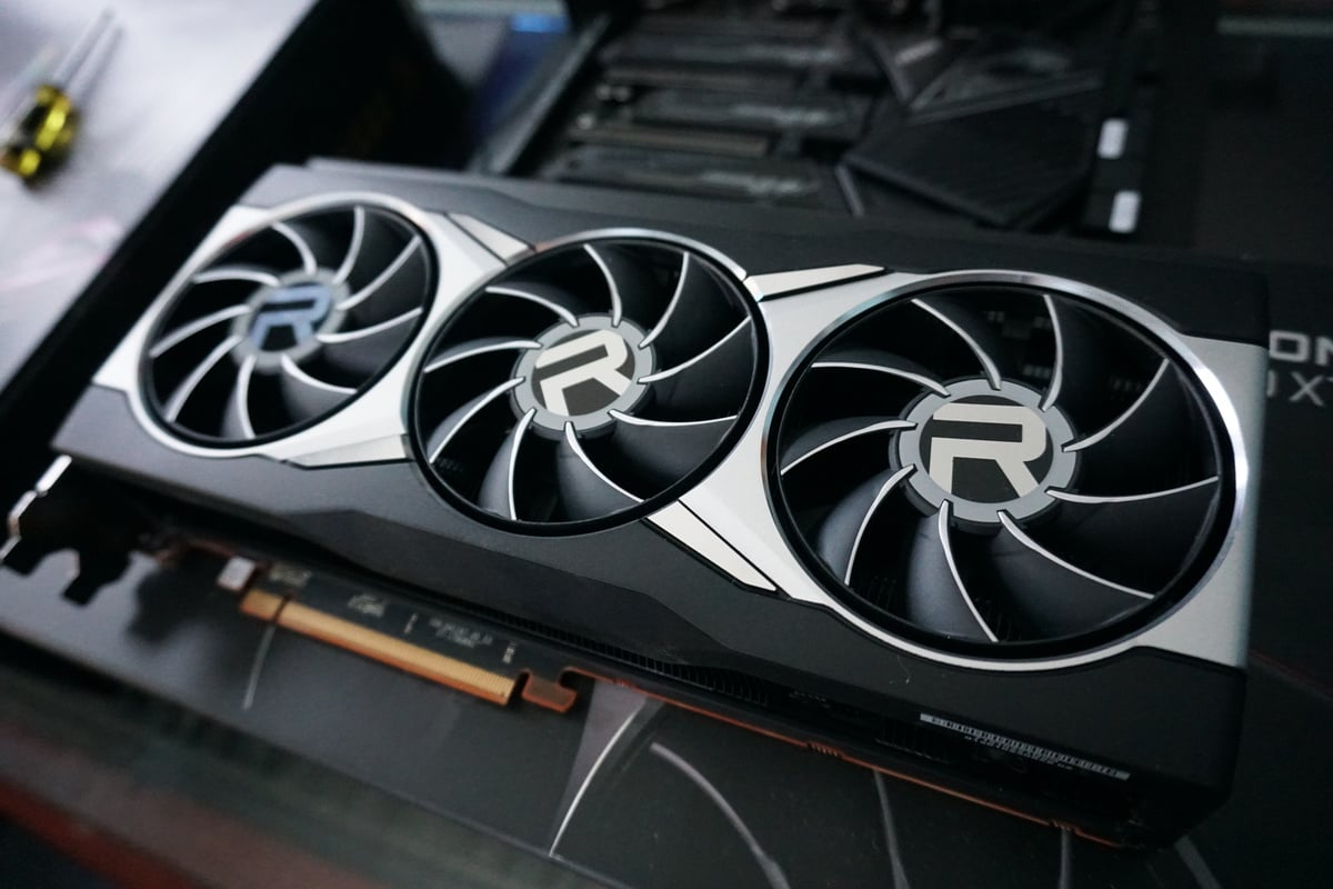 Grafická karta Radeon RX 6900 XT od firmy AMD