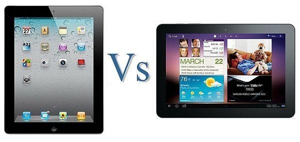 iPad vs Galaxy Tab
