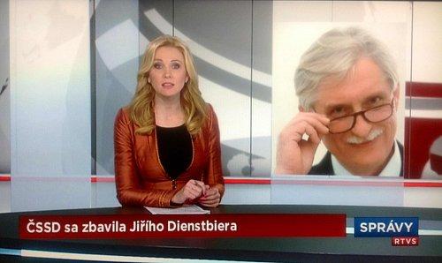 Není Dientsbier jako Dientsbier. Slovenská televize si spletla syna s otcem.
