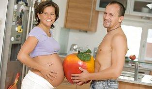 Jíst vtěhotenství za dva je nesmysl