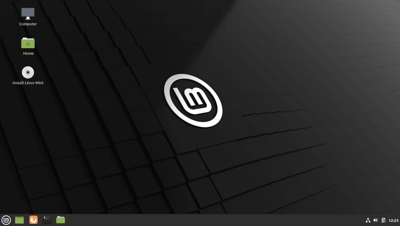 "Linux Mint 20 ""Ulyana"" Cinnamon"