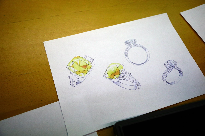 Jak se vyrábí diamantový šperk