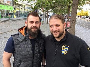 Oldřich Štěrba (vlevo) a Jiří Olšanský