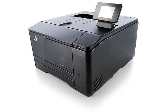 Tiskárna HP Laser Jet Pro 200 Color Printer M251nw má plně barevnou zobrazovací jednotku LCD, která umožňuje snadný pohyb mezi jednotlivými nastaveními tiskárny
