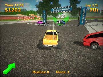 Obrázky ke hře RC Mini Racer.