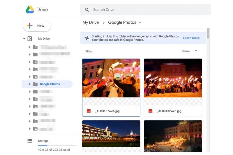 Fotografie, které se nachází na Disku Google ve složce Fotky Google, vám sice nikam nezmizí, na druhou stranu k nim nebudete moci ani nic přidat.