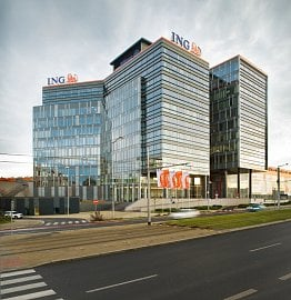 Centrála ING Bank.