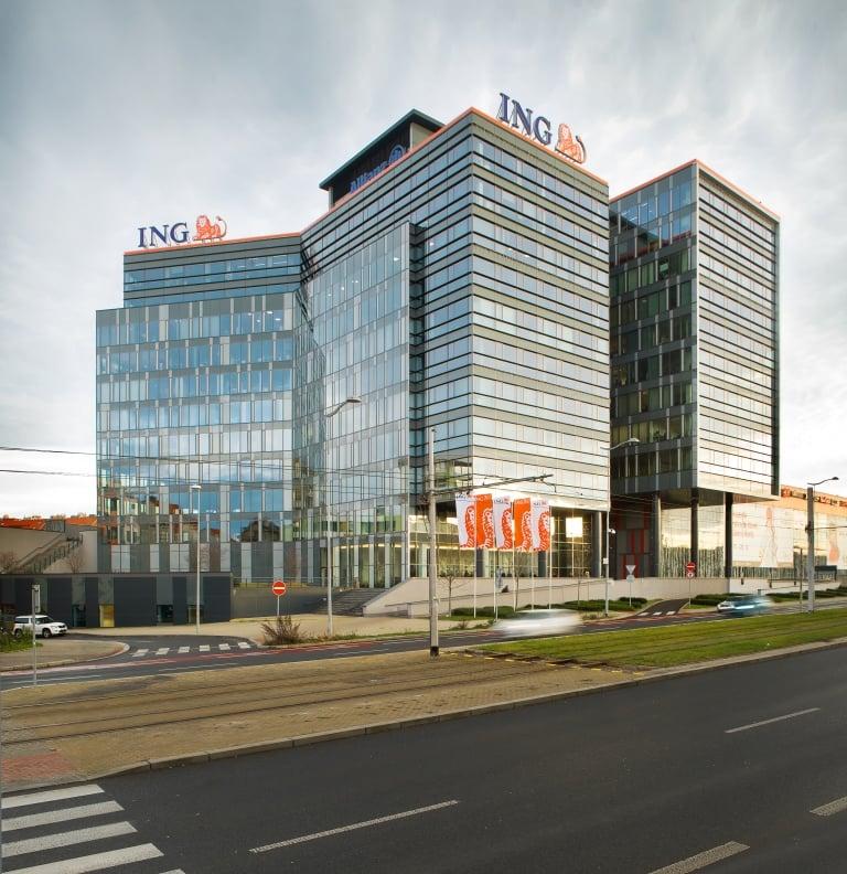 ING Bank - na návštěvě