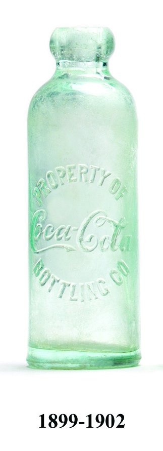 Jak se měnila láhev Coca - Coly v čase
