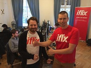 Jiří Musil (vlevo) a David Engelmaier, iflix