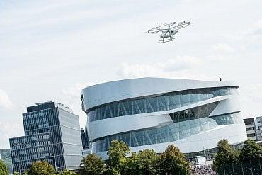 Volocopter tento víkend létal ve Stuttgartu