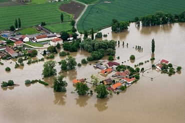 Povodeň. Ilustrační foto
