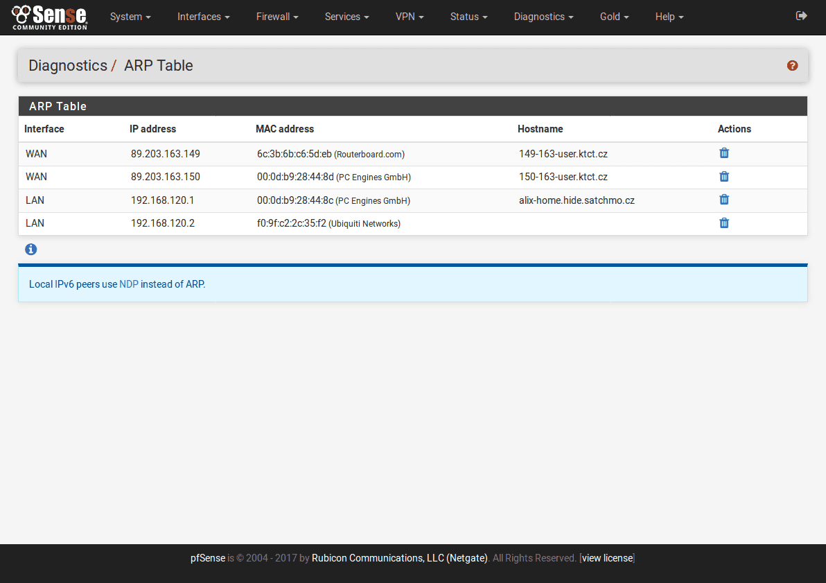 ARP_Table_pfSense