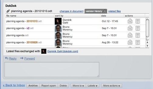 DokDok pro Gmail