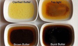 Hnědé máslo: umění přesného okamžiku