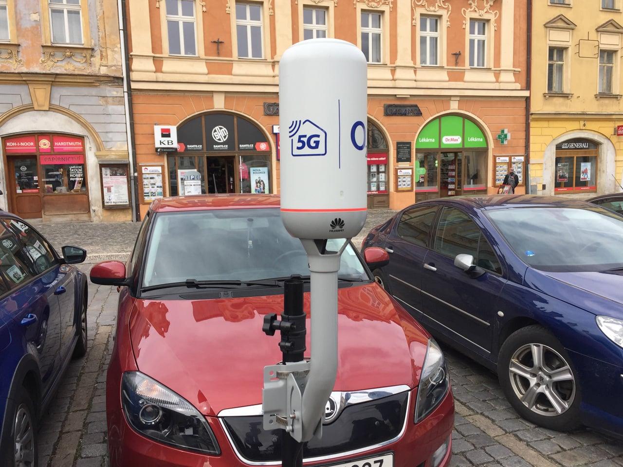 Přípravy na 5G: O2 v Kolíně spustil LTE o rychlosti až 1 Gb/s