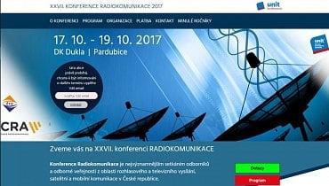 Konference Radiokomunikace 2017.
