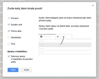 Urychlení získání nových funkcí Gmailu