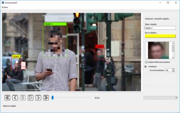 Systém na anonymizaci objektů v obrazu od VUT