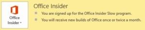 Program Office Insider ve Windows 10
