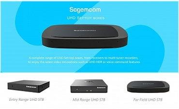 Set-top boxy Sagemcom