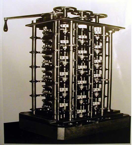 Diferenční stroj