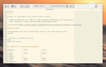 GNOME Builder s CSD