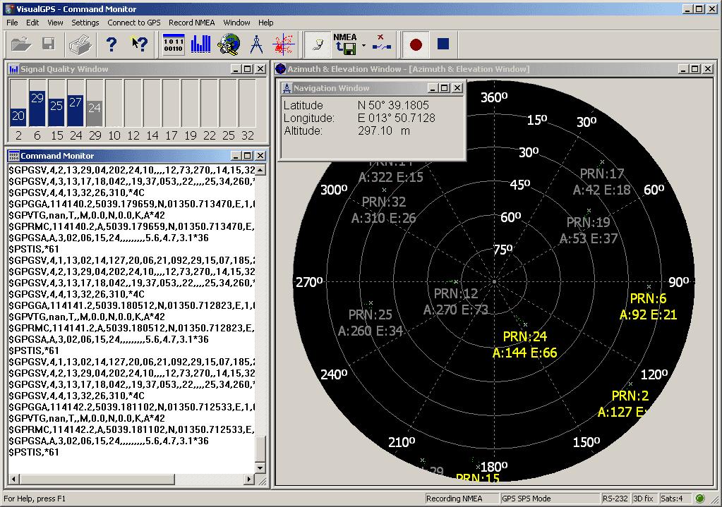 Oprava GPS