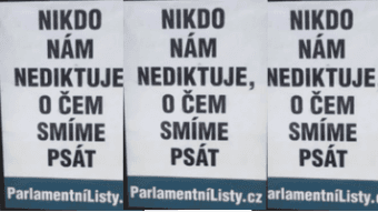 DigiZone.cz: Parlamentní listy: kde končí PR...