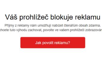 Lupa.cz: Zákazy i prosby. Jak média řeší blokátory