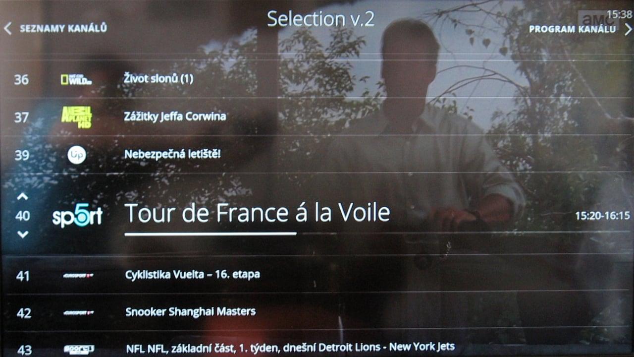 O2 TV - seznam kanál§