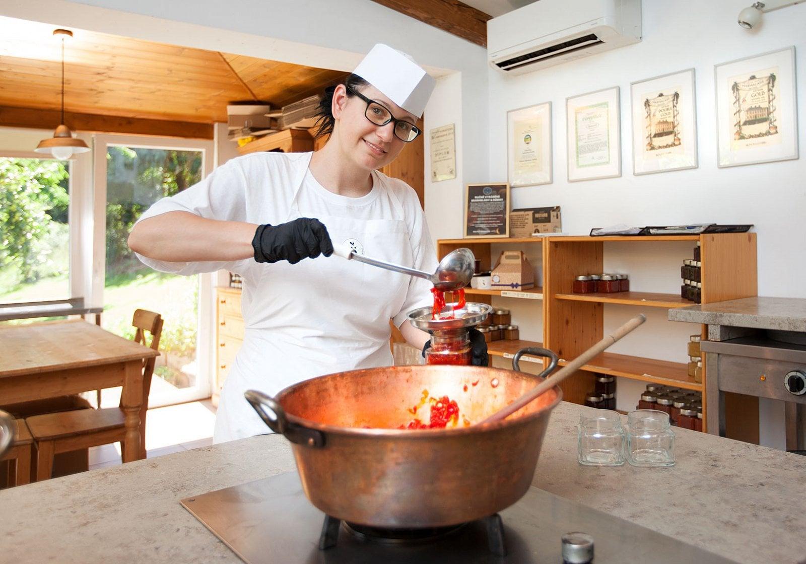 Jak se vyrábí marmeláda