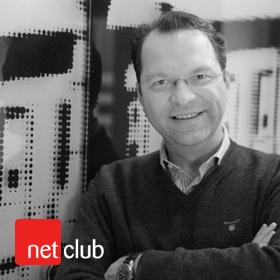 Logo NetClub s Andreasem Demuthem