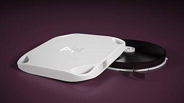 Technologie Piql využívá k ukládání dat černobílý filmový materiál.