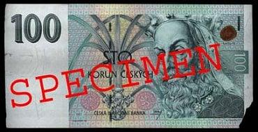 Bankovka opotřebená oběhem: Bankovka, které chybí část nebo části okraje. Fyzická osoba: vrací zpět do oběhu. Právnická osoba: vrací zpět do oběhu.