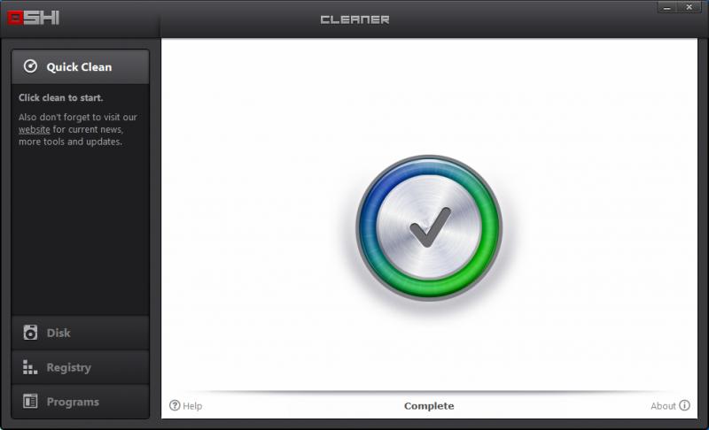 OSHI Cleaner je portable nástroj na údržbu systému