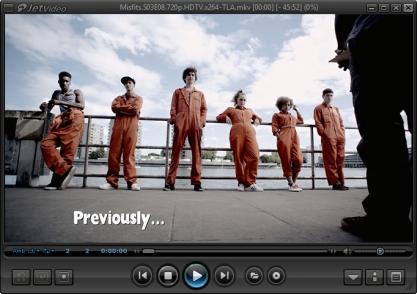 JetVideo přehrává video