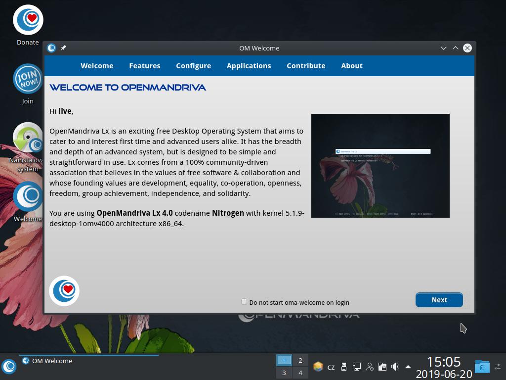 OpenMandriva Lx 4.0