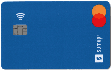 Platební karta SumUp je alternativou, jak čerpat peníze z akceptace karet přes terminál SumUp. Mastercard Business Prepaid vyrábí francouzská Idemia a přijde obyčejnou poštou z Polska. (05/2021)