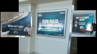 AMD o Intel Xeon na letišti v San Jose
