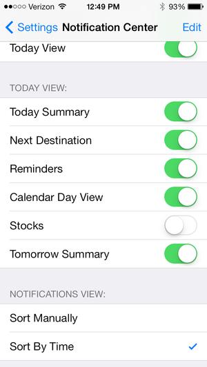 iOS 7 Today