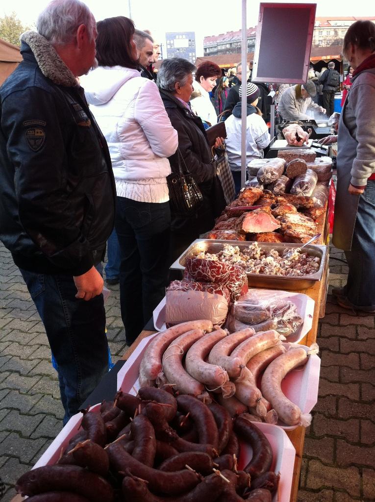 Farmářský trh na Kulaťáku začíná v březnu 2013