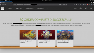 GoG akce Heroes of Might and Magic (březen 2021)
