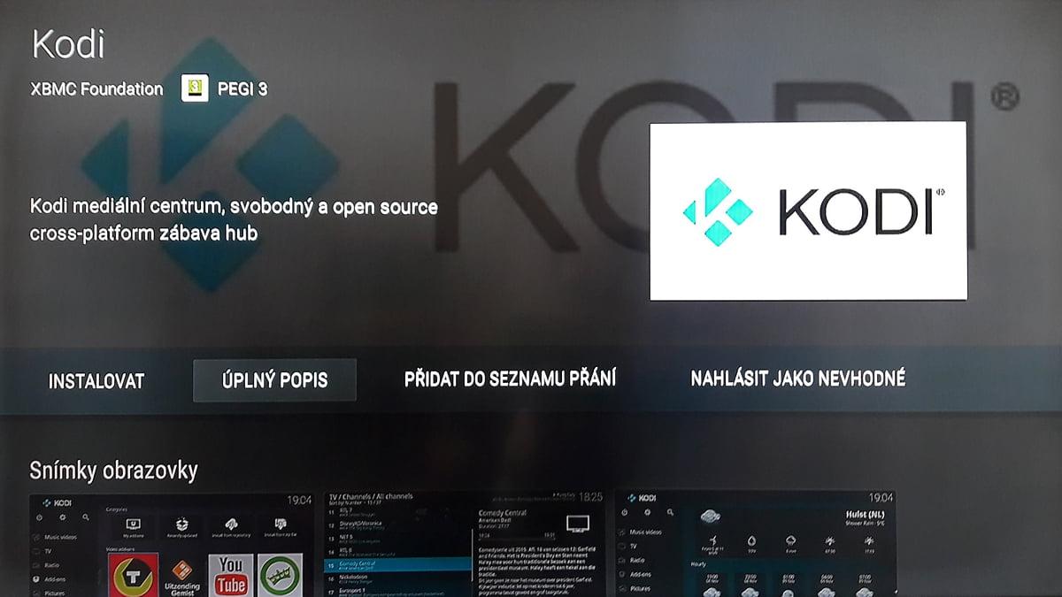 SledováníTV - Kodi