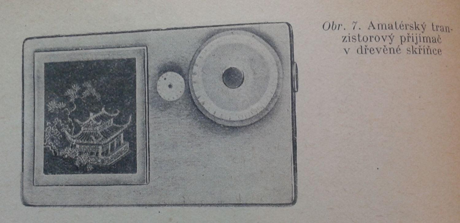 Z čeho stavět amatérské tranzistorové přijímače