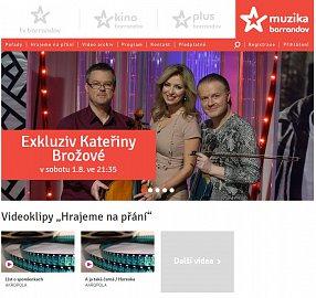 Webová stránka televize Barrandov Muzika prozatím neobsahuje žádné informace. Obrázek lze zvětšit